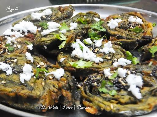 Alu Wadi | Patra | Patrado - Taro Leaf Rolls