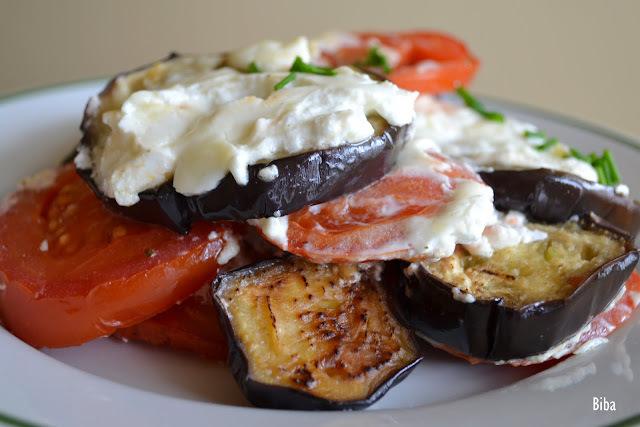 zapekaný baklažán s paradajkami