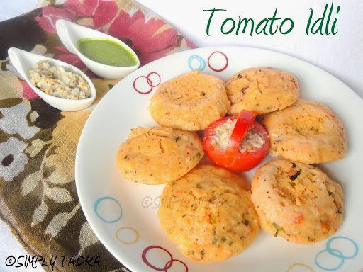 Instant Tomato Idli