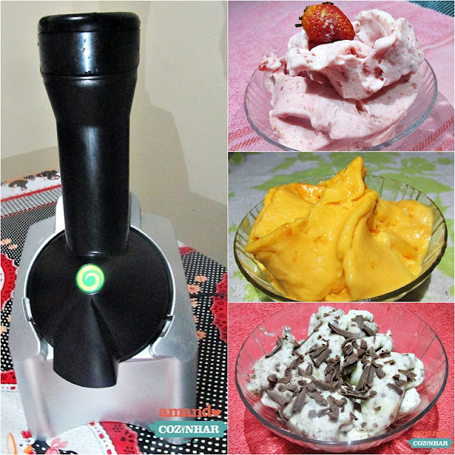Yonanas: Fazendo sorvete em casa somente com frutas