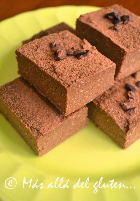 Cuadritos de Coco y Chocolate sin Hornear (Receta GFCFSF, Vegana, RAW)