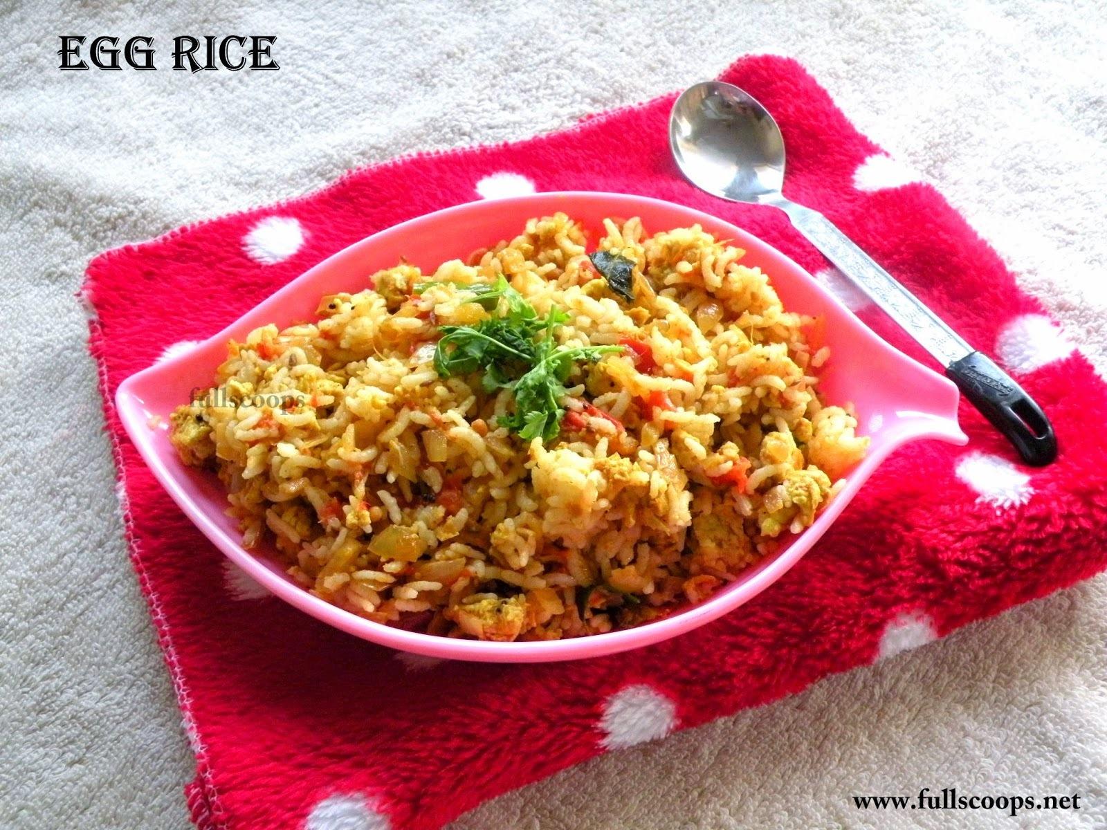 Masala Egg Rice