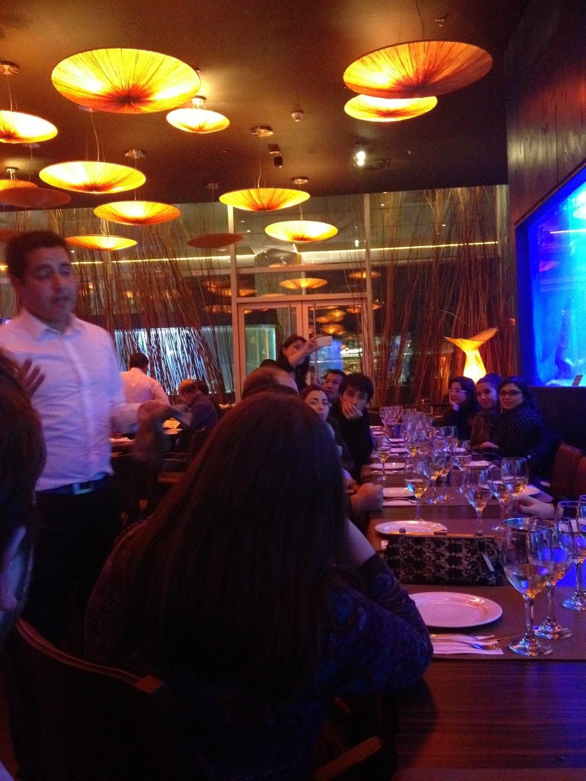 Catas y maridaje en Restaurant Costamia