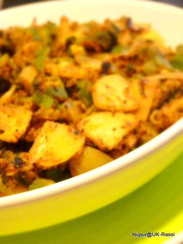 Crispy Besani Bhindi : Okra fry with gram flour