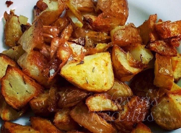 o que combina com frango assado e batata