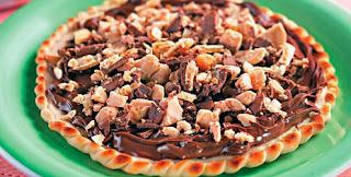 Minipizza de chocolate com bombo