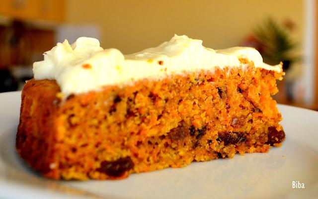 Carrot cake alebo Mrkvový koláč