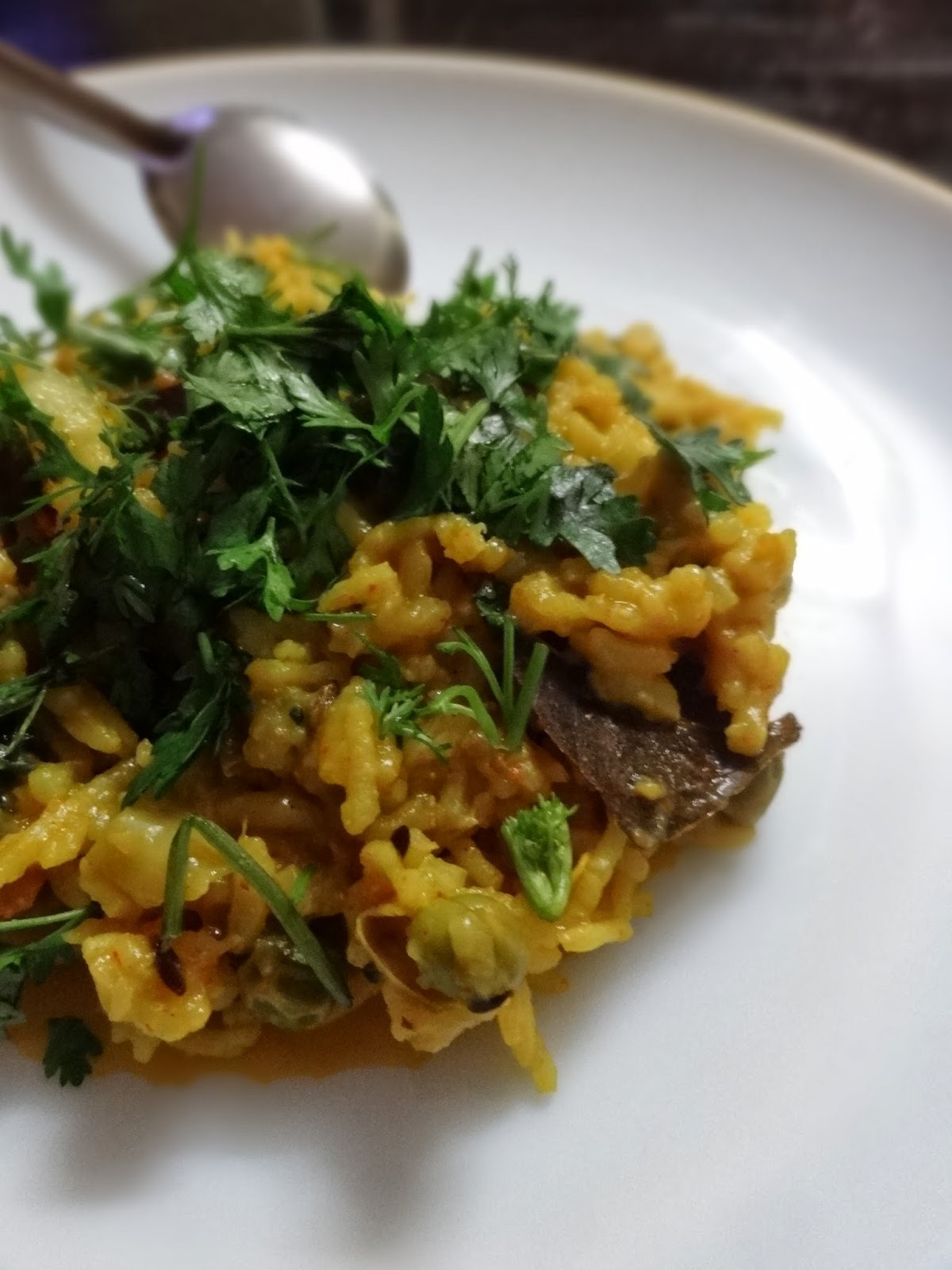 Vegetable Pulao (Tahri)