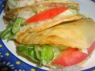 Tacos crujientes de Papa