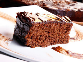 Bolo de chocolate no liquidificador