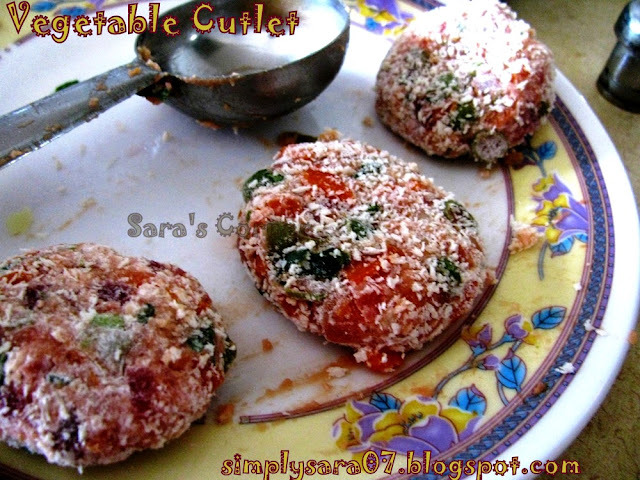 Vegetable Cutlet!!!