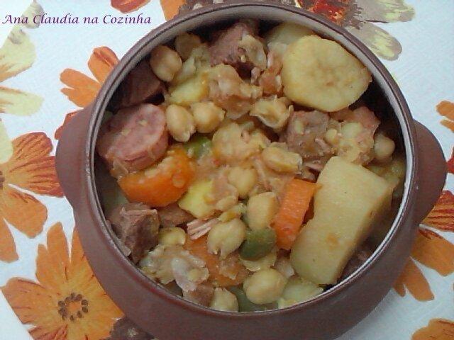 cupim cozido com batata e cenoura