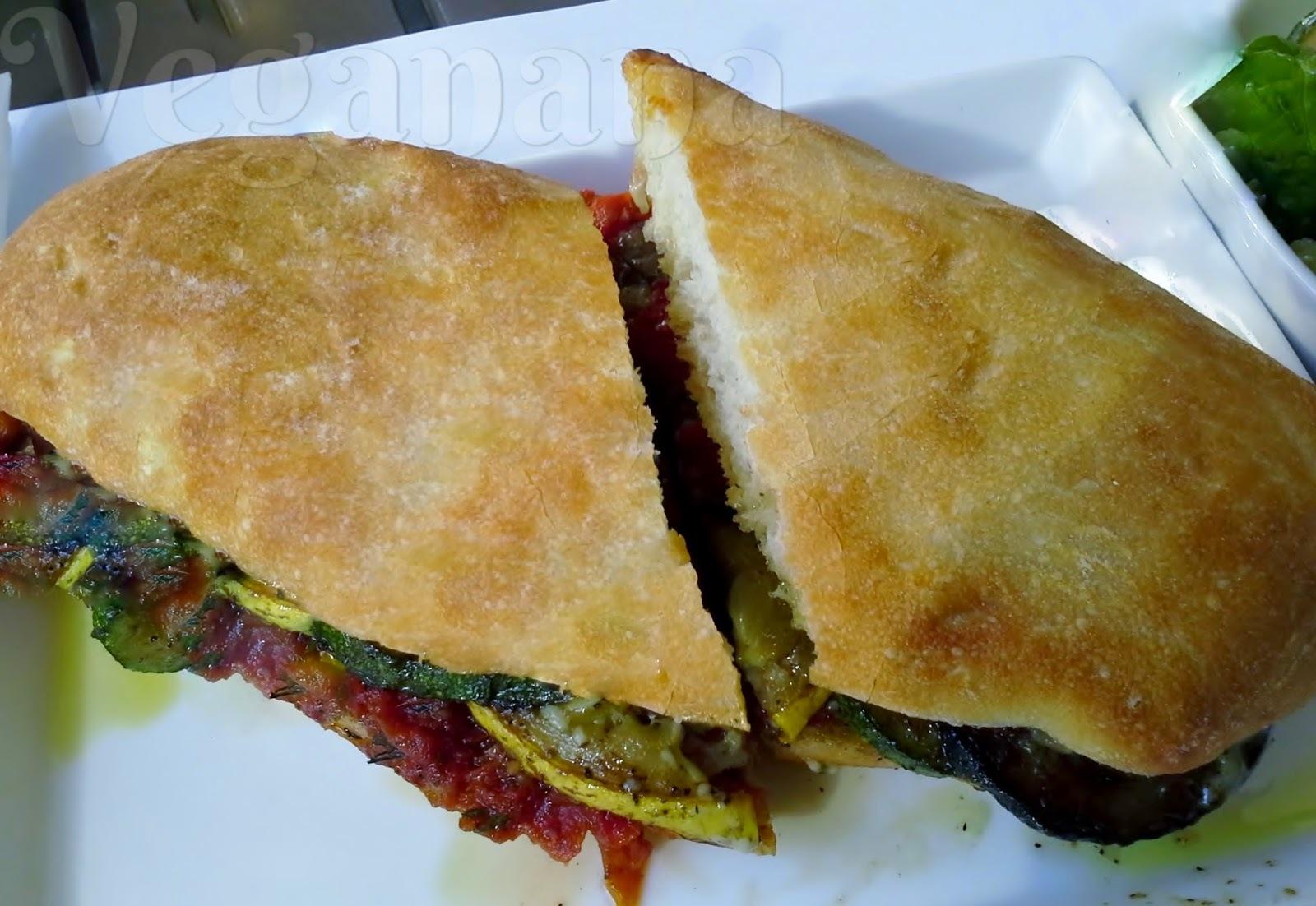 Sanduiche de Legumes  à Provençal
