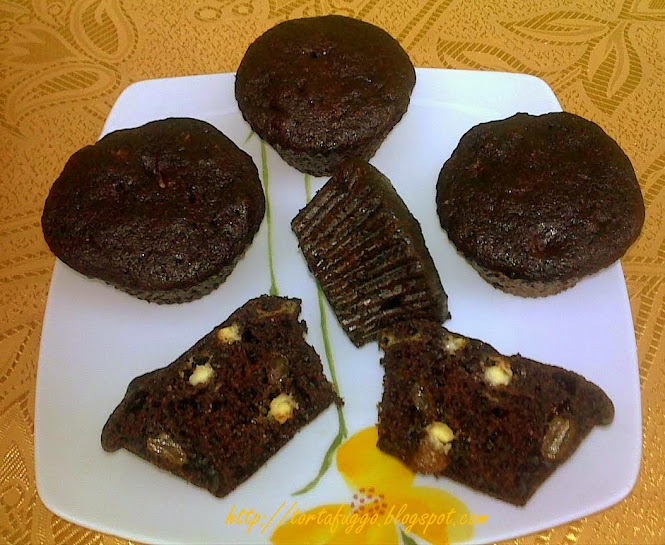 Csokis mazsolás muffin