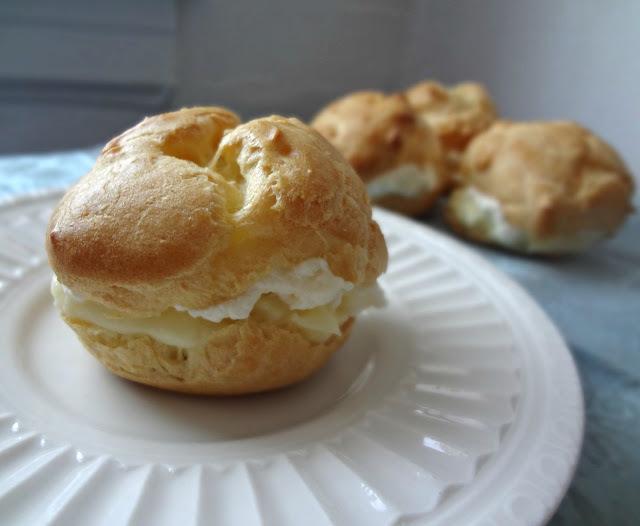 Cream Puffs (from scratch)