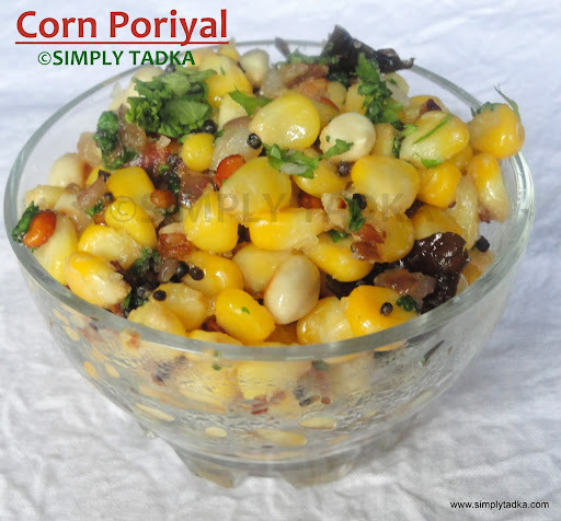 Corn Poriyal