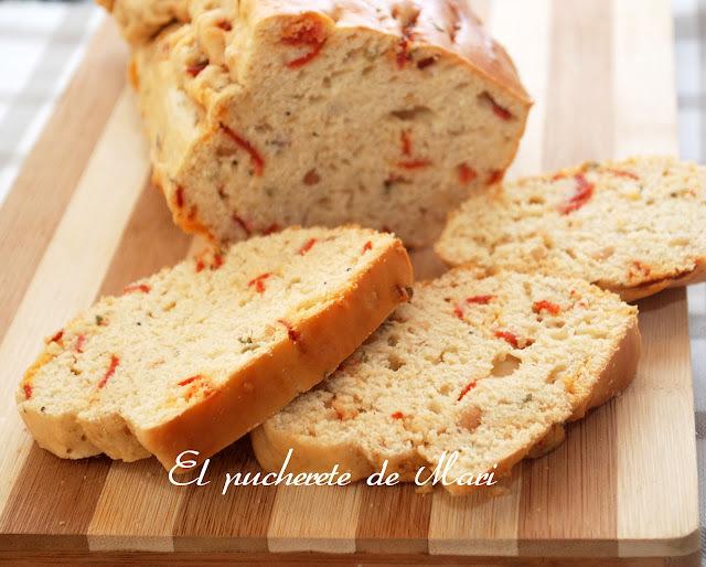 CAKE DE CHORIZO Y NUECES