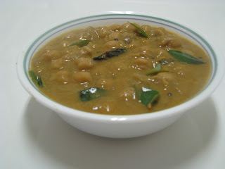 Kadala Curry With Coconut Milk