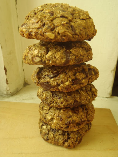 外脆內軟純素巧克力碎片餅乾  Vegan Crispy & Chewy Chocolate Chips Cookies