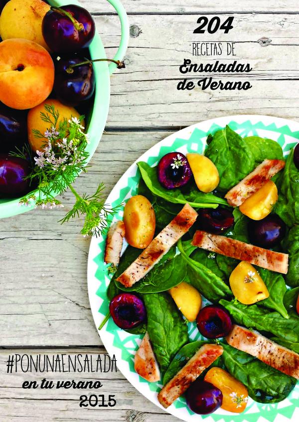 204 ensaladas de verano | el recetario #ponunaensalada2015