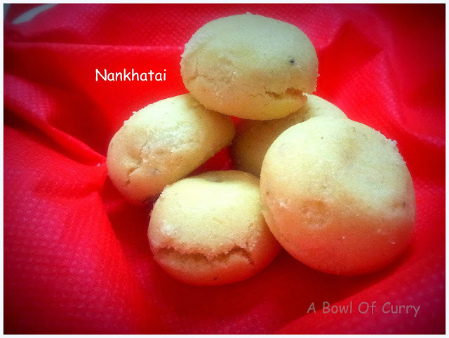 Nankhatai - The Famous Indian Cookie