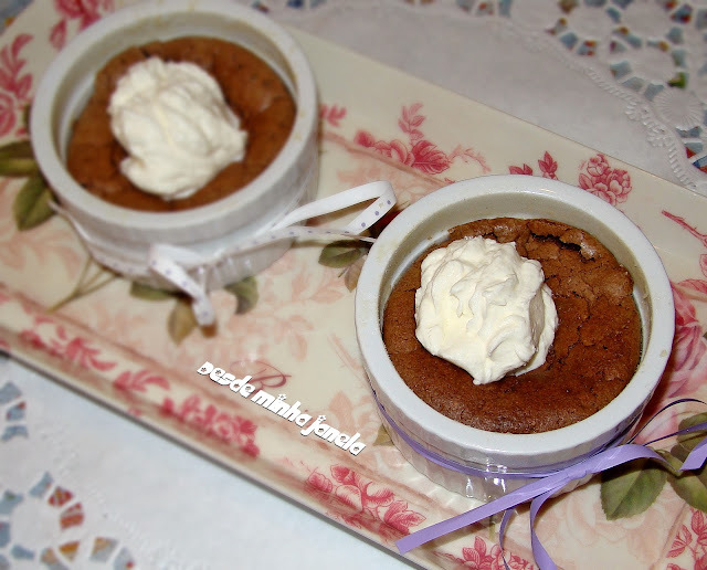 Pudim de Chocolate Fudge