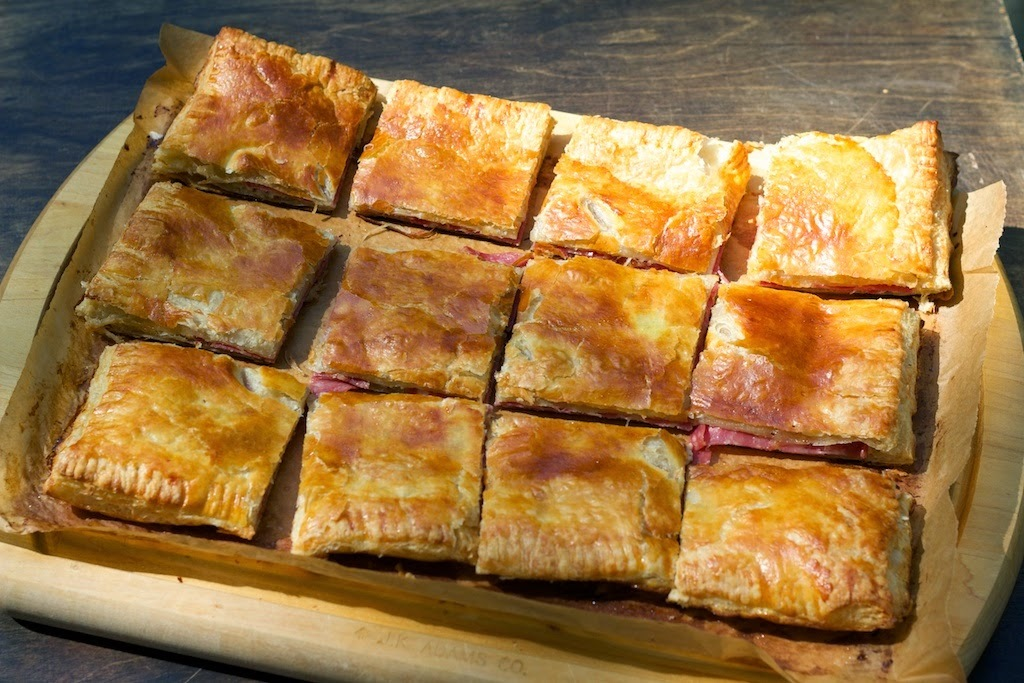 Sopressata and Cheese in Puff Pastry