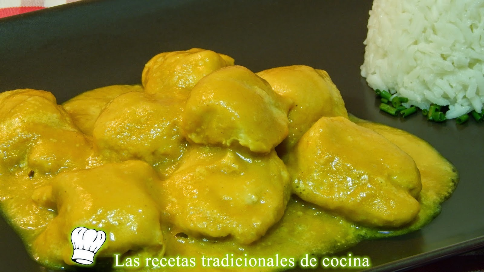 Receta del pollo al curry