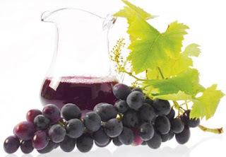 com suco de uva serve para que