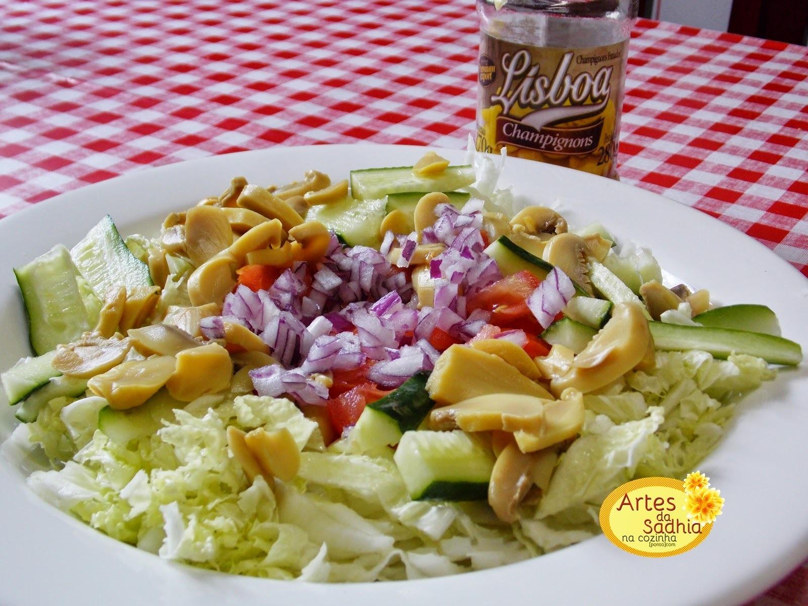 Salada de acelga de Outono