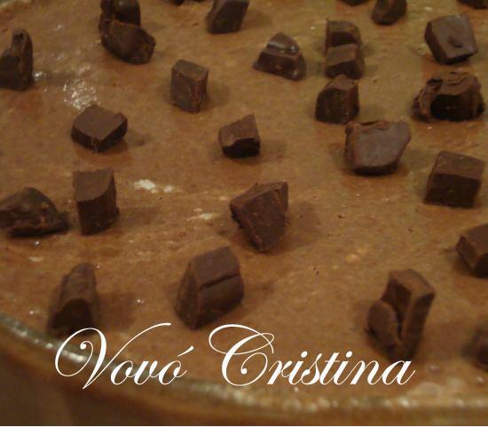 DIA DA VOVÓ - STROGONOFF DE CHOCOLATE