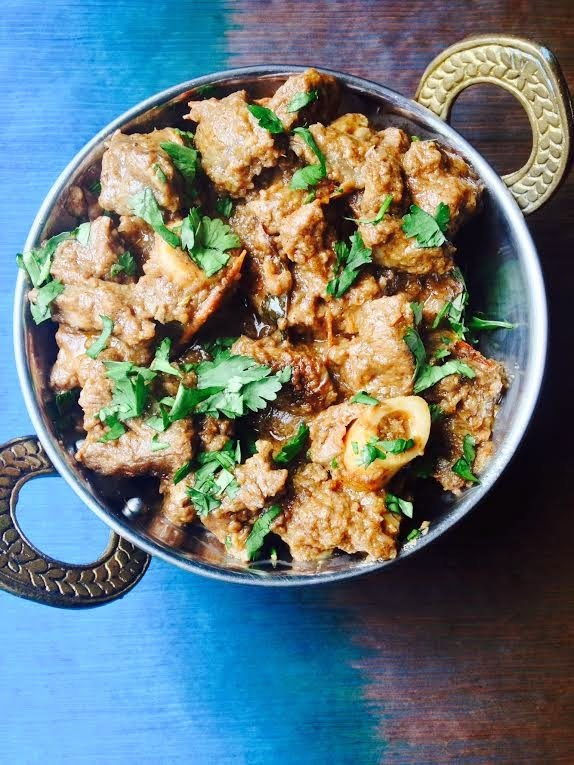 Lamb/Mutton Roast in Coconut Milk