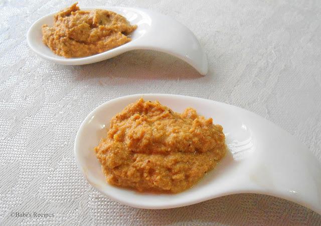 Ginger chutney /Dip | Side Dish for Idli / Dosa