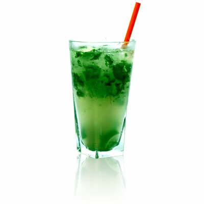 Cocktail de menta fresca