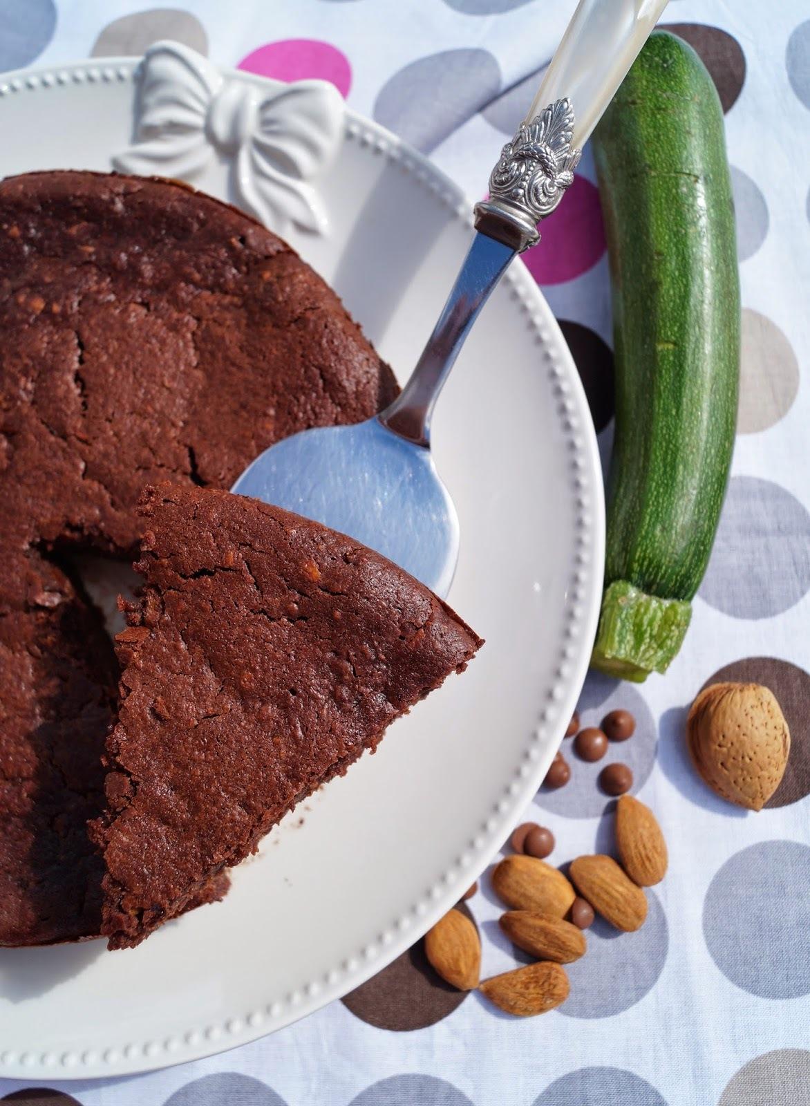Gâteau au chocolat et aux courgettes version Thermomix