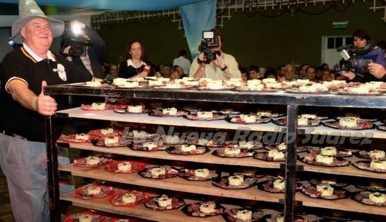 Fue un sensacional éxito la Schlachtfest 2014: la 13º gran Fiesta de la Carneada