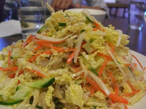 Recette de salade de chou, christophine ou concombre,carotte épicée - vegane (République Dominicaine)