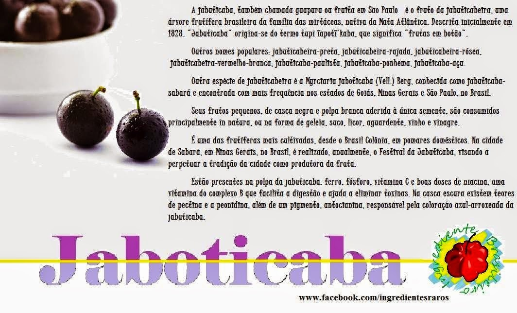 Dica Funcional: Jabuticaba
