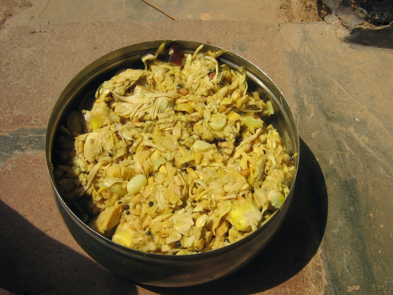 idichakka thoran / tender jackfruit thoran
