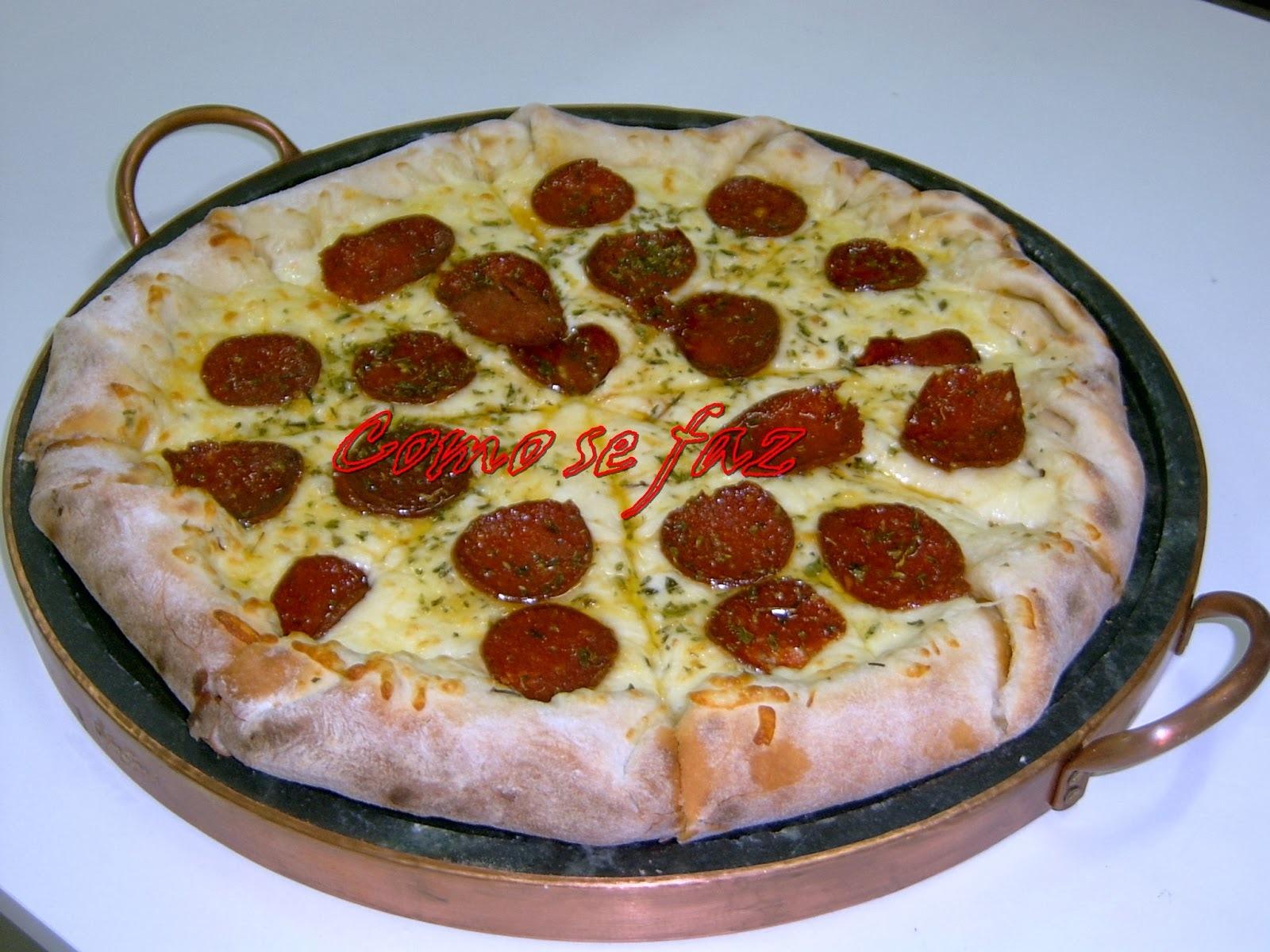 Pizza de Pepperone