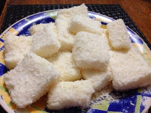 Maria Mole de pudim de coco ZERO açúcar