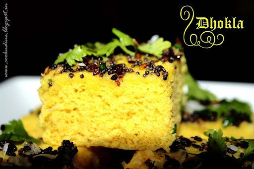 Instant Khaman Dhokla....Gujarati Delicacy
