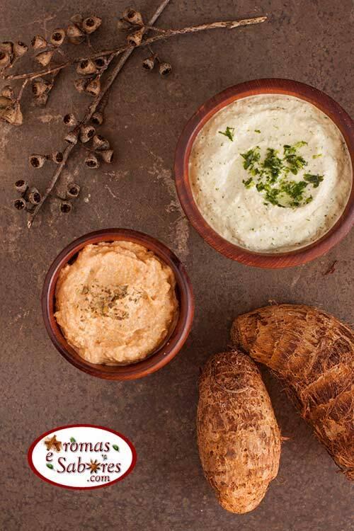 Pastinhas veganas e funcionais, feitas com inhame