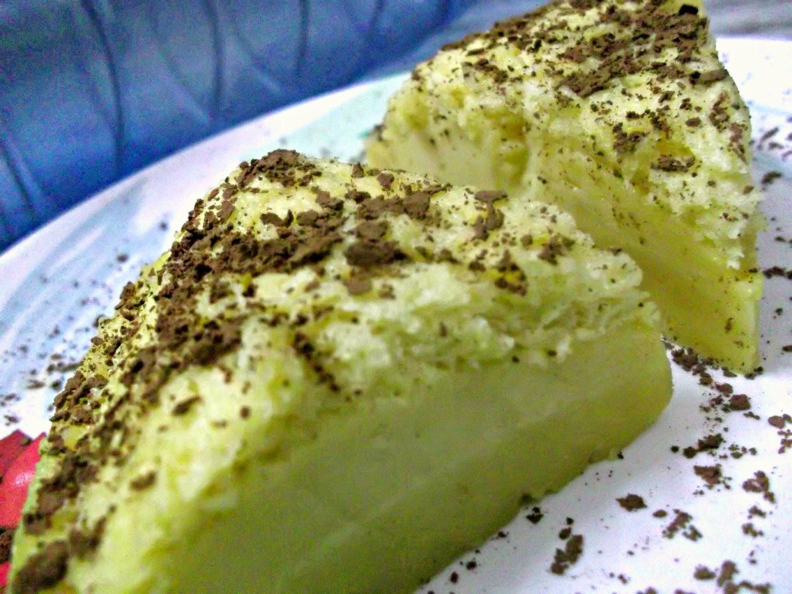 Magic Custard Cake - My 1st Try