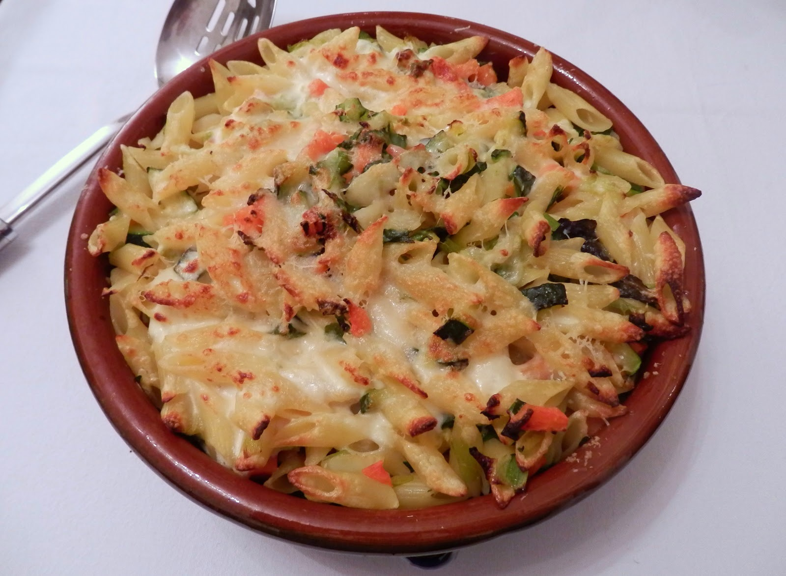 Spring Vegetable Pasta Gratin