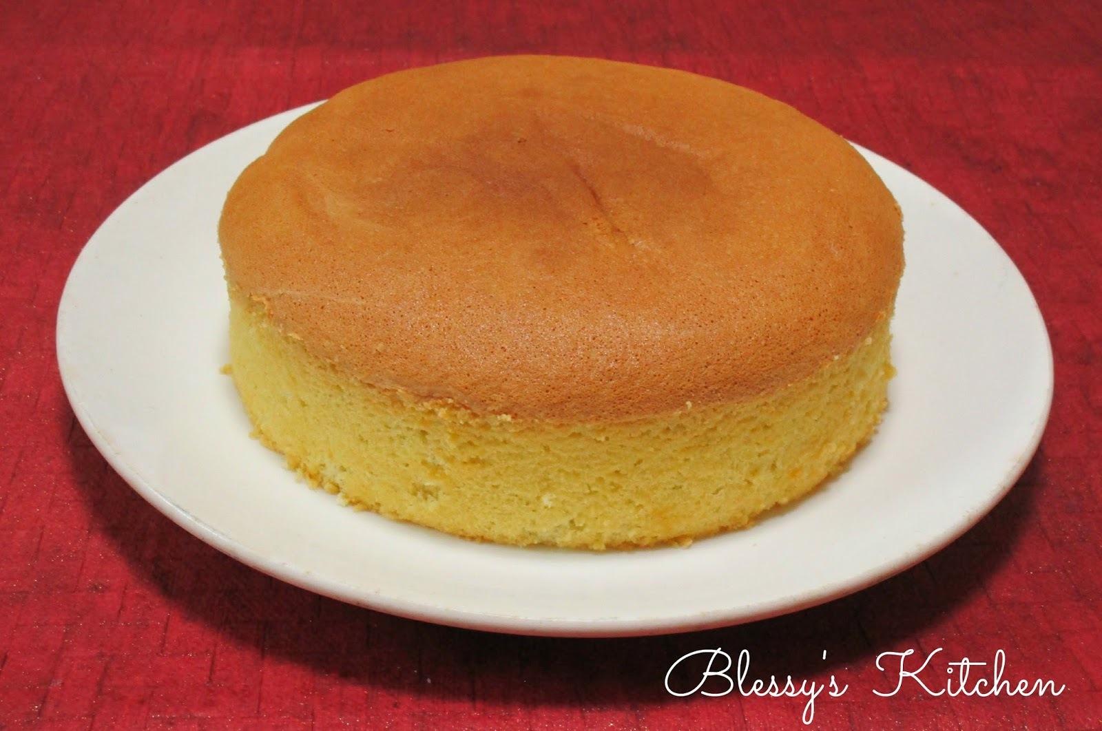 Vanilla Sponge Cake/ Plain Sponge Cake / Plain cake