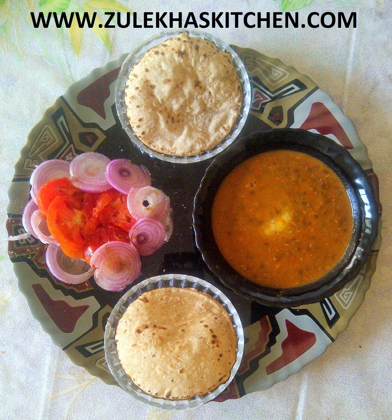 Recipe of daal makhani