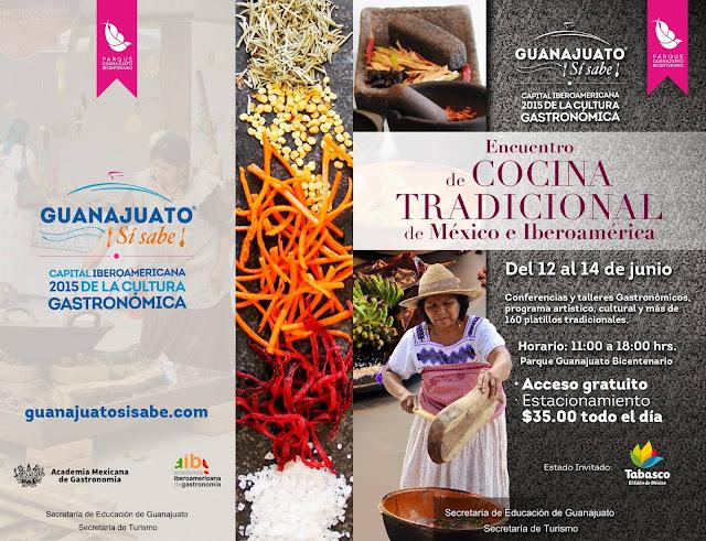 Habra 160 Platillos en el Encuentro de Cocina Tradicional de Mexico e Iberoamerica 2015