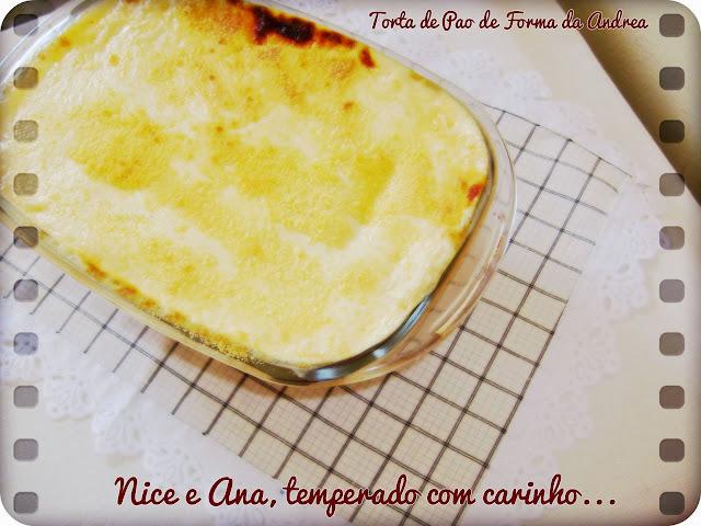 Torta de Pão de Fôrma da Andréa