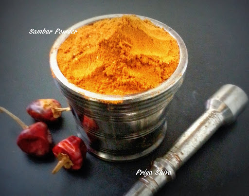 Sambar Powder / How to make Sambar powder?